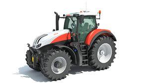 3D steyr tractor model