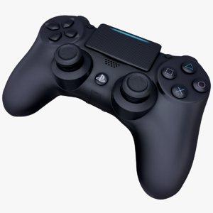 playstation 5 dualshock joystick 3D model