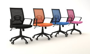 3D design chair coworking