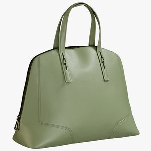 3D realistic women s bag model
