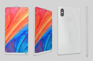 xiaomimix2swhite phone smart 3D model