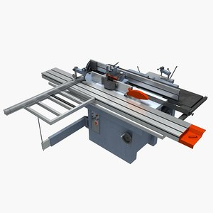 cutting machine 3D model