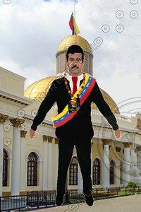 nicolas maduro venezuela 3D