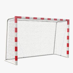 3D handball goal post