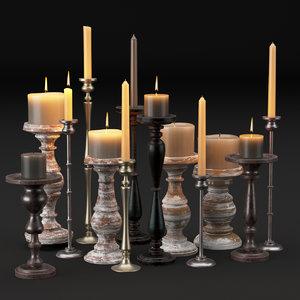lighting set 3D model