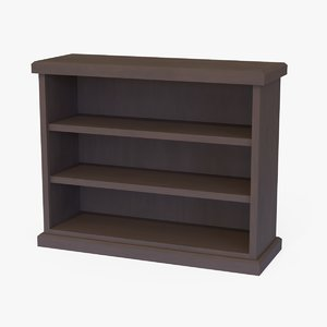 small bookcase model