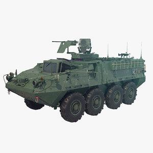 ready m1127 stryker 3D model