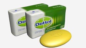 soap dettol 3D model