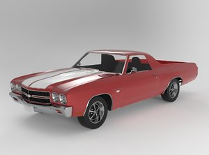 chevrolet el camino ss 3D model