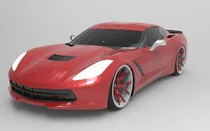 chevrolet corvette c7 r model