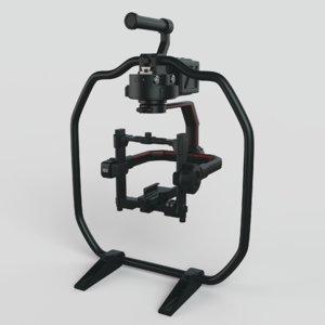 dji ronin 2 camera 3D model