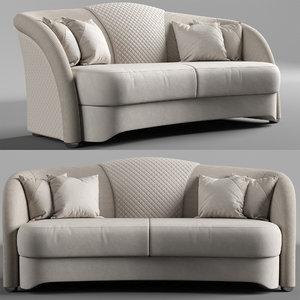 3D estetica vision fabiano sofa