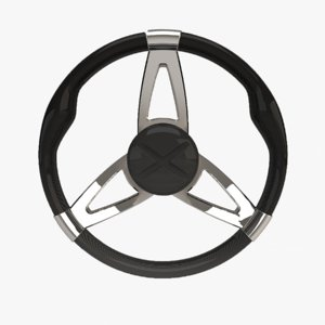 3D carbon steering wheel
