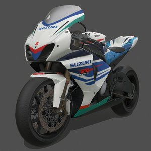 3D motorbike motorcycle vehicle