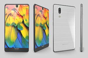 3D sharp aquos s2 phone