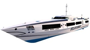 3D passenger speed ferry