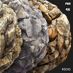 PBR Rocks textures