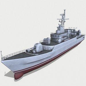 type 053h3 jiangwei 3D model