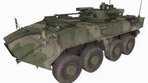 k17 boomerang russian army 3D model