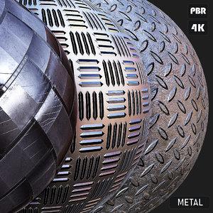 PBR Metal textures