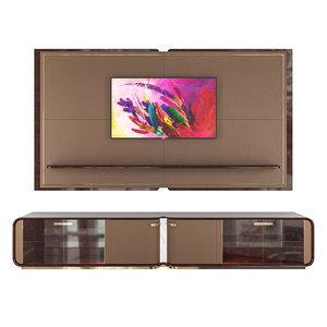 turri madison tv unit 3D model
