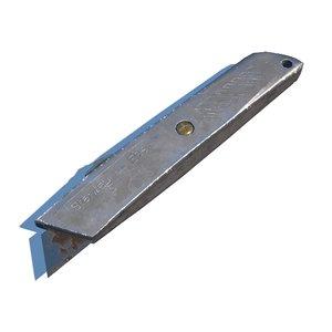 3D box cutter model