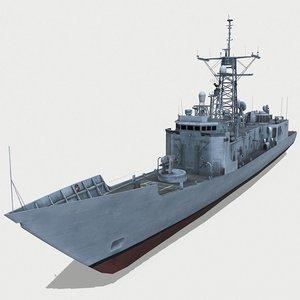 uss simpson ffg-56 3D model