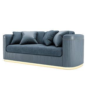 3D model volpi augusta sofa