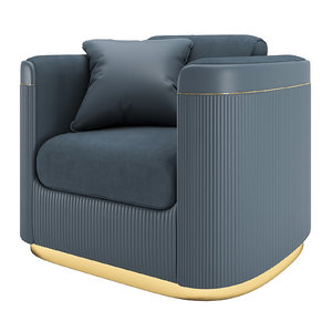 3D volpi augusta armchair