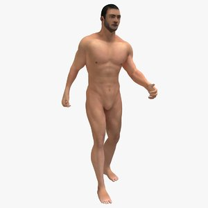 3D generic male rigged
