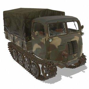 raupenschlepper model