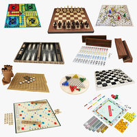 10 in 1 Board Game Collection