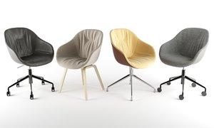 hay aac chairs 3D