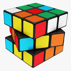 3D magic cube model