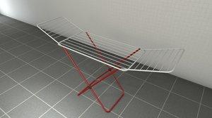clothes dryer dry 3D model