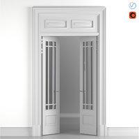 Classic glass door