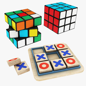 3D magic cube tic tac
