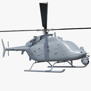 3D northrop grumman mq-8c scout
