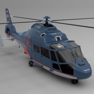 northern helicopter nhc blue model