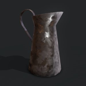medieval style pitcher 3D model