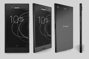 3D sony xperia xz1 phone model