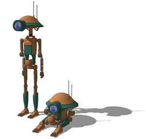 droid pitdroid 3D