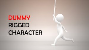 stickman character simple model