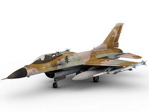 general dynamics f-16 falcon 3D model