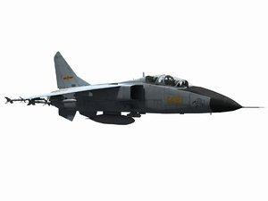 3D jh-7 flying leopard