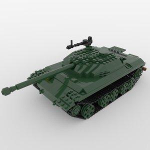 3D lego tank - chinese model