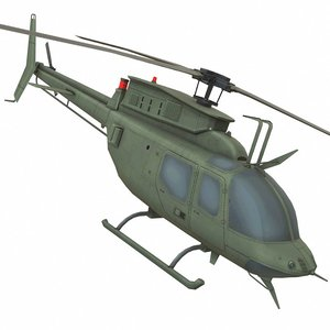 3D bell copter helicopter