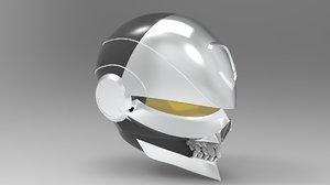 ghost rider helmet robbie 3D model