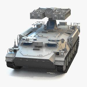 3D missile 9k35 strela-10