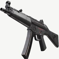 Mp5A2 Triple A PBR Game Ready